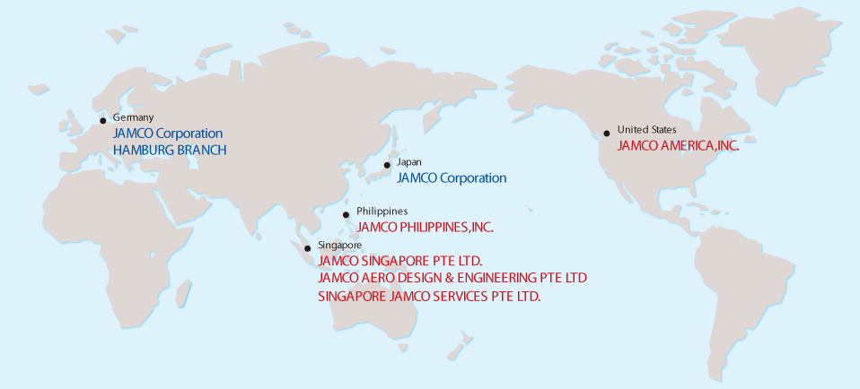 JAMCO GROUP GLOBAL NETWORK